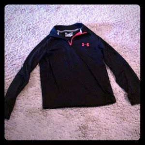 Boys under armor jacket size small